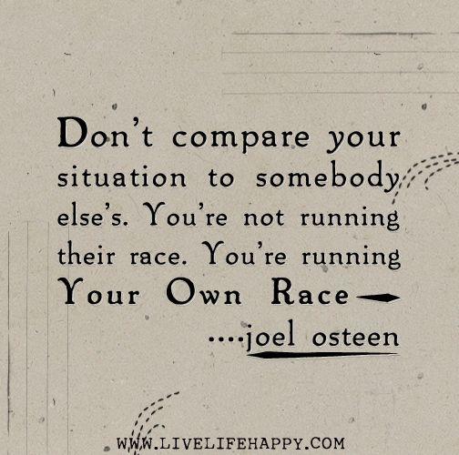 Run Your Own Race Genevieve Bosah